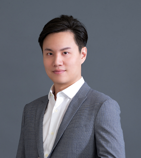 Headshot of Sunogel's chief develpment officer, Dr Tom Shen.